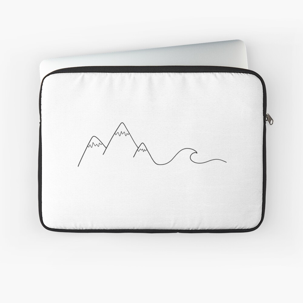 Mountain Wave Laptop Sleeve