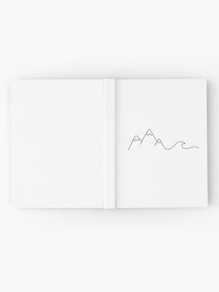 Alternate view of Mountain Wave Hardcover Journal