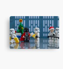 Darth Santa Canvas Print
