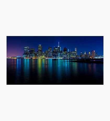 Manhattan After Dark Photographic Print
