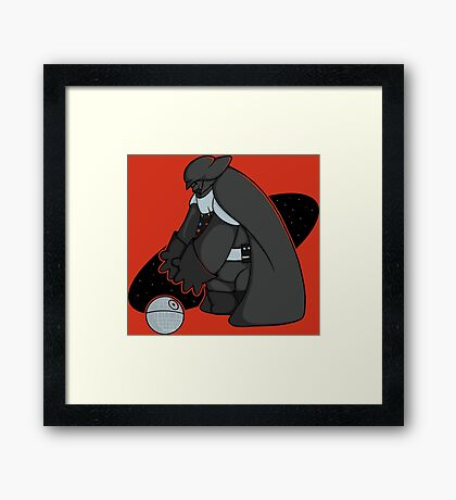 Big Hero Sith Framed Print