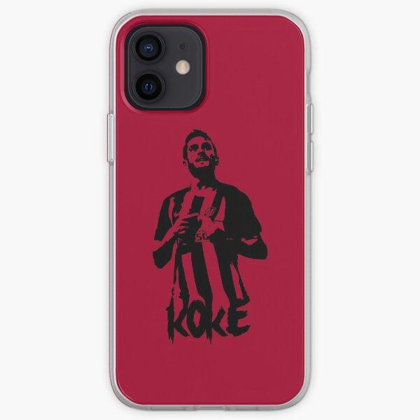 Koke Atlético de Madrid Funda blanda para iPhone
