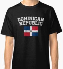 Dominican Flag Shirt - Vintage Dominican Republic T-Shirt Classic T-Shirt