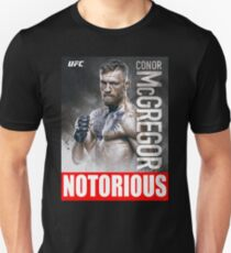 Conor McGregor UFC the Notorious T-Shirt