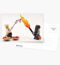 Extreme BBQ Postcards