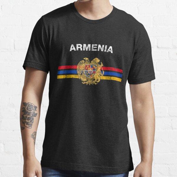Armenian Flag Shirt - Armenian Emblem & Armenia Flag Shirt Essential T-Shirt
