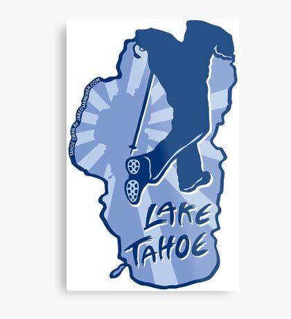 Hike Lake Tahoe Metal Print