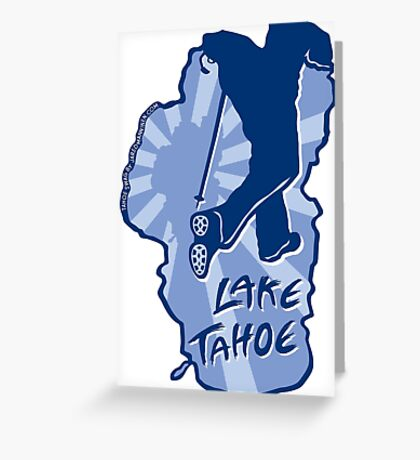 Hike Lake Tahoe Greeting Card