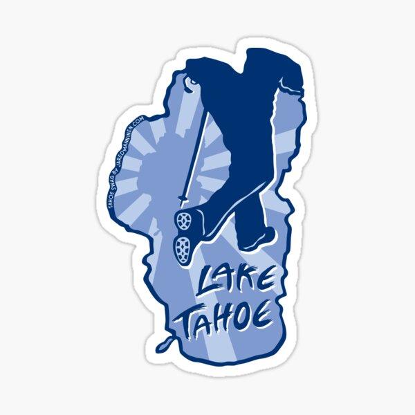 Hike Lake Tahoe Sticker