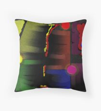 Velvet Velcro Throw Pillow