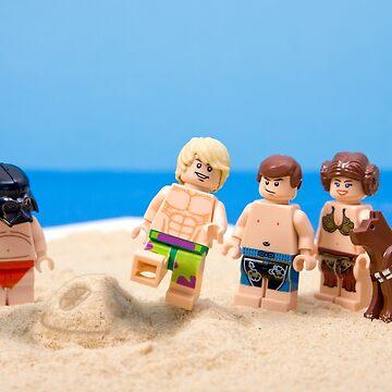 Vader's Sandcastle  by SadOldBiker