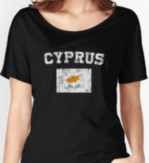 Cypriot Flag Shirt - Vintage Cyprus T-Shirt Women's Relaxed Fit T-Shirt