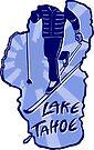 Cross-Country Ski Lake Tahoe by Jared Manninen