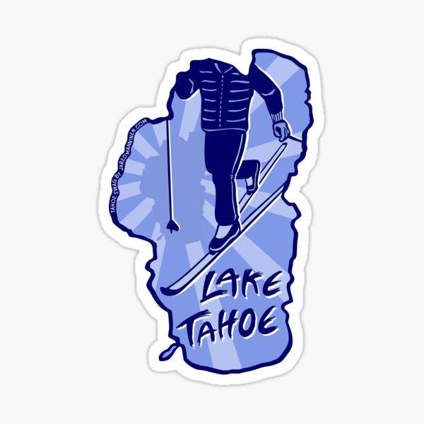 Cross-Country Ski Lake Tahoe Sticker