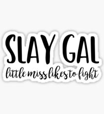 Buffy - Slay Gal Sticker