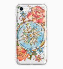 Nautical Compass iPhone Case/Skin