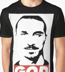 Zlatan God Graphic T-Shirt
