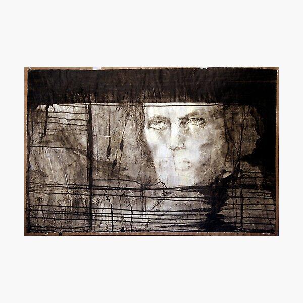 portrait of david robert jones Photographic Print