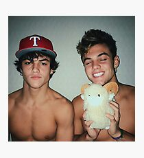 Cute Dolan Twins Photographic Print