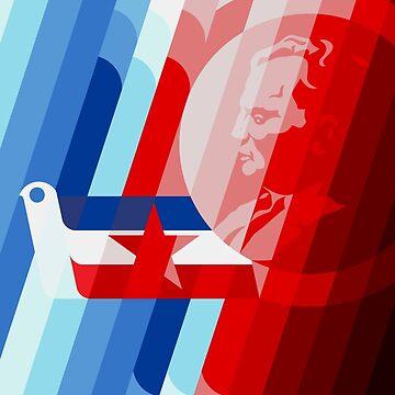 40 Jahre Jugoslawien - jugoslawisches Propagandaplakat von dru1138