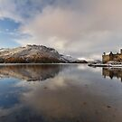 Eilean Donan Castle in Winter. Dornie. Scotland. by PhotosEcosse