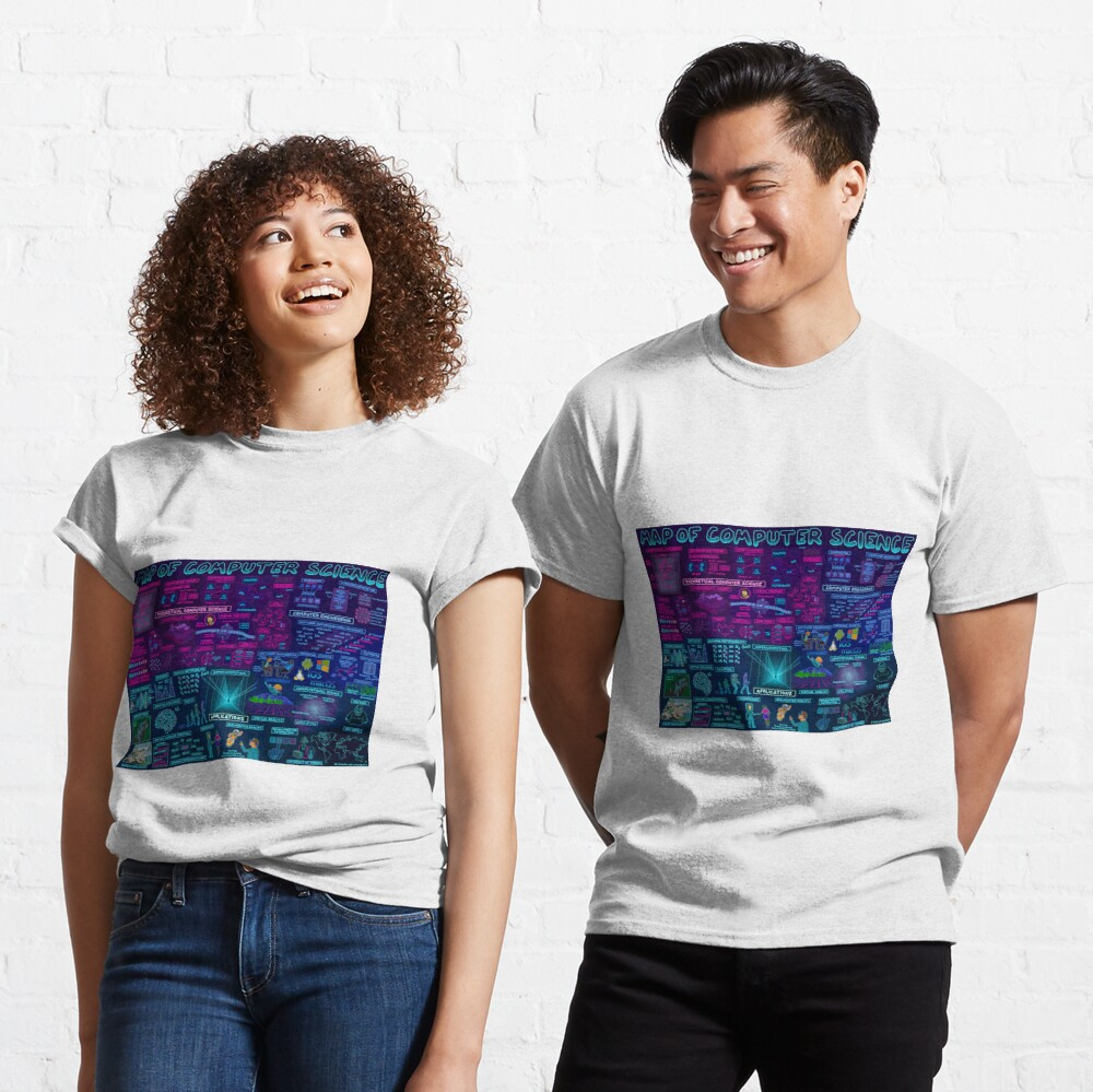 Map of Computer Science Classic T-Shirt