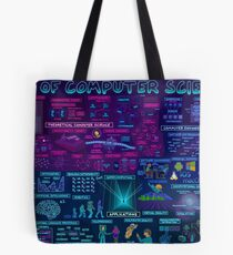 Map of Computer Science Tote Bag