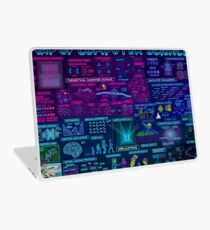 Map of Computer Science Laptop Skin