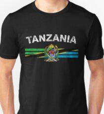 Tansanische Flagge Shirt - Tansania Emblem & Tansania Flag Shirt Unisex T-Shirt