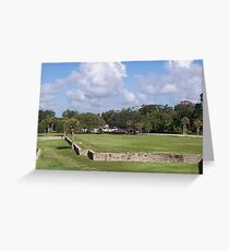Castillo Grounds Greeting Card