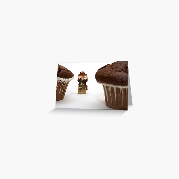 Cakes - why did it have to be cakes?? Greeting Card