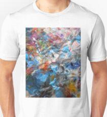 abstract muddy rainbow storm 09/04/17 T-Shirt