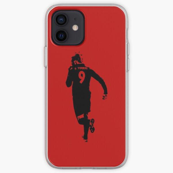 Fernando Torres Atlético de Madrid Funda blanda para iPhone