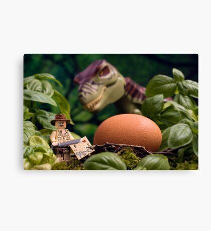 Lego T-Rex egg Canvas Print