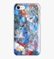 abstract crushed gems 09/04/17 iPhone Case/Skin