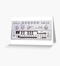 Roland TB 303 Greeting Card