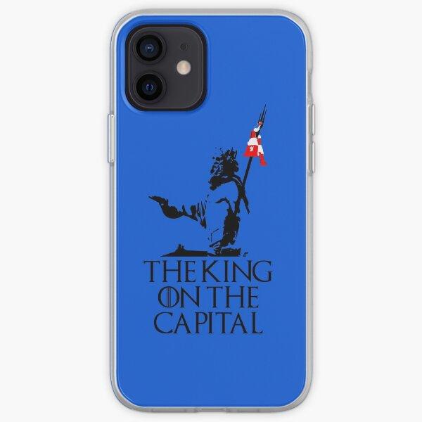 The King on the Capital Neptuno Funda blanda para iPhone