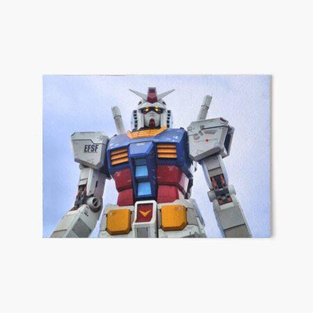 Gundam Stare Art Board Print