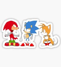 Sonic mania Classic gang Sticker