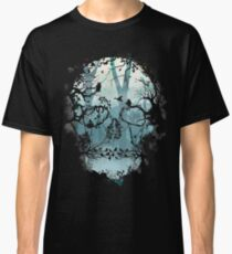 Dark Forest Skull Classic T-Shirt