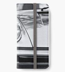Porsche 911 Targa - half front view iPhone Wallet/Case/Skin