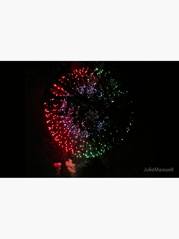 Fire Flower Fireworks by JulieMaxwell