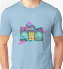 Eighties Retro Boom Box Graphic T-Shirt