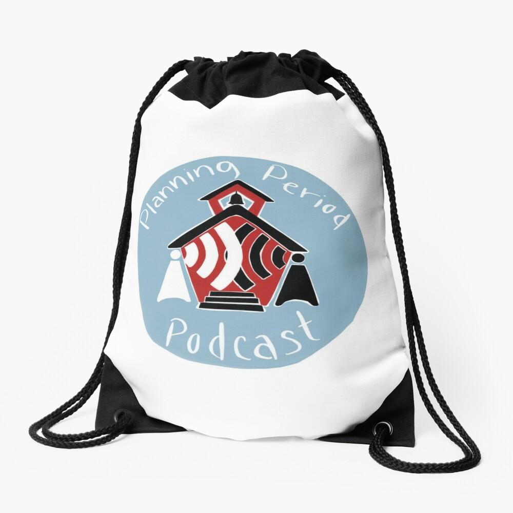 Planning Period Podcast Drawstring Bag