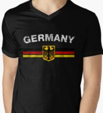 German Flag Shirt - German Emblem & Germany Flag Shirt T-Shirt