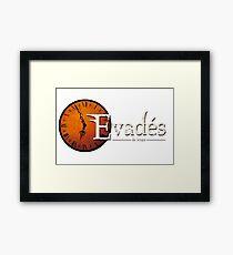 Evades du Temps / Time Escapers Framed Print