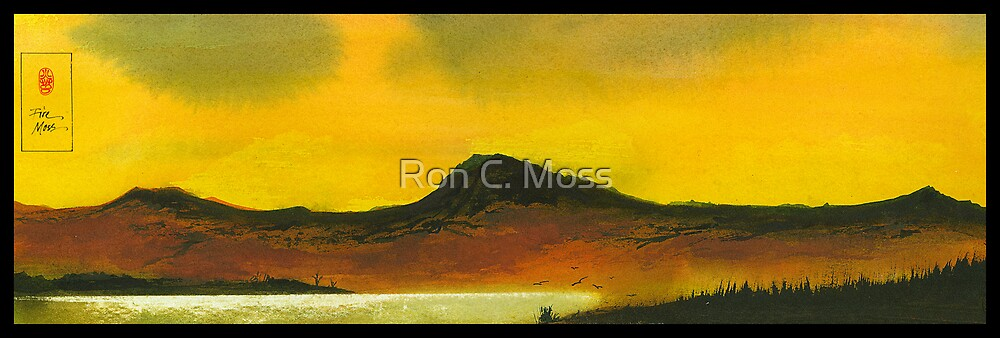 Yellow Sky by Ron C. Moss
