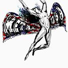ICARUS THROWS THE HORNS - metal usa NEW by butterflyscream