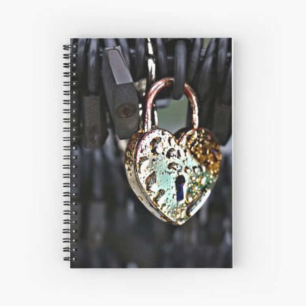Lock necklace Gold heart mature bdsm Lock and key