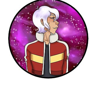 Galaxy White haired Keith by TrumanZanotto